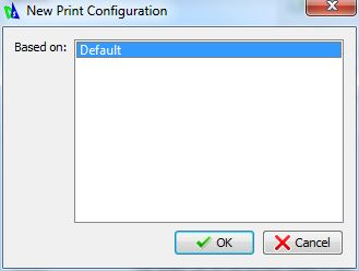Print Configuration in DraftSight