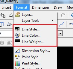 Format Lines: LineStyle, LineColor & LineWeight - CadOasis