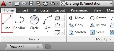 how to use construction lines on auto cad