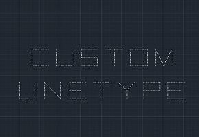 Custom Line type – AutoCAD