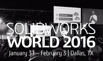 SolidWorks World 2016  -#SWW16