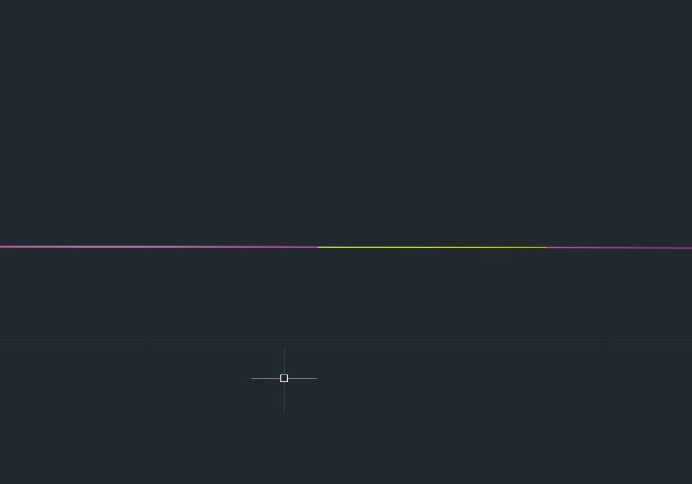 How to Create Multicolored lines in AutoCAD ?