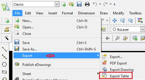 how to export to pdf in draftsight